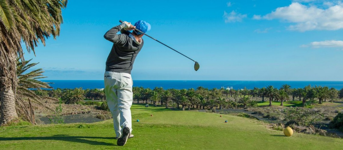 golf lanzarote